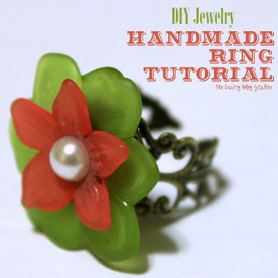 How to Make a Handmade Ring | Jewelry | Easy DIY Craft Tutorial Idea