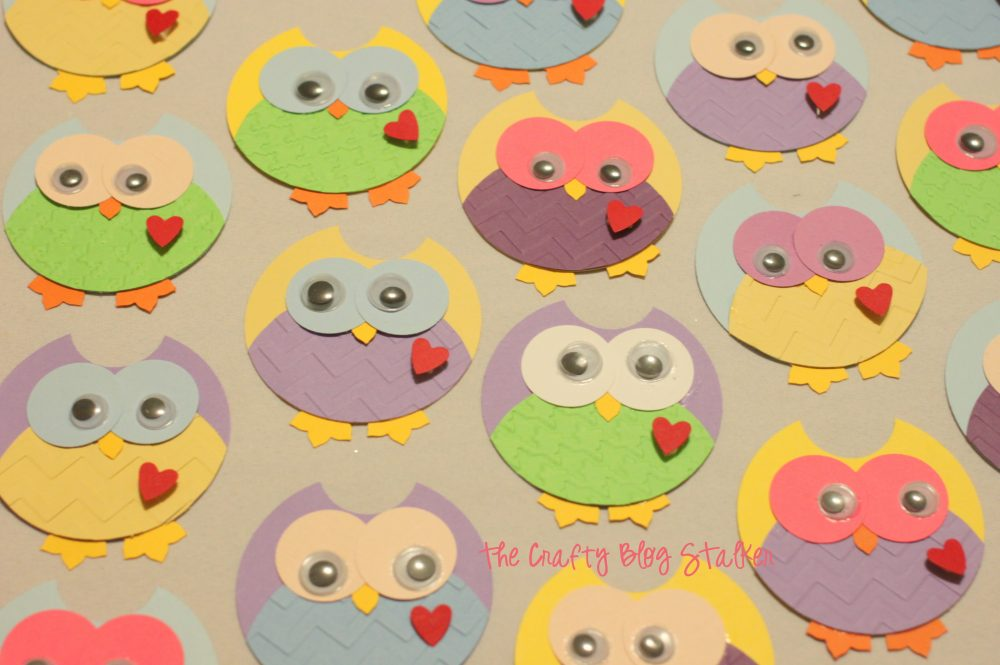 Create super cute owl punch art using paper, punches and google eyes. These little guys will be cute dressing up any paper craft project.