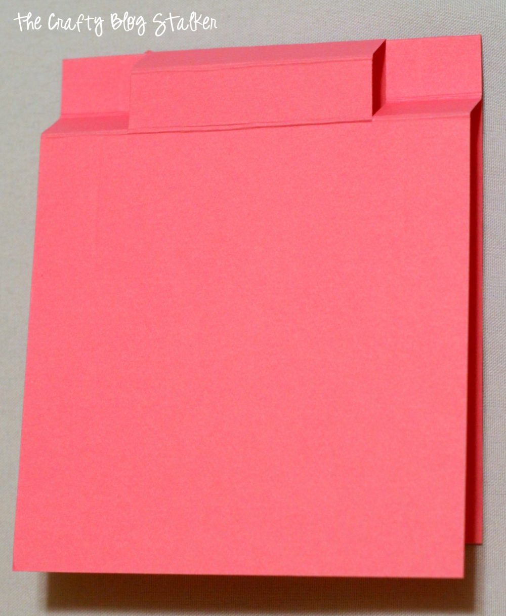 DIY a simple Valentine Gift Post-It Note Holder. Simple to make and fun to give, great teacher gift and coworker gift. Give a Valentine's Day Gift.