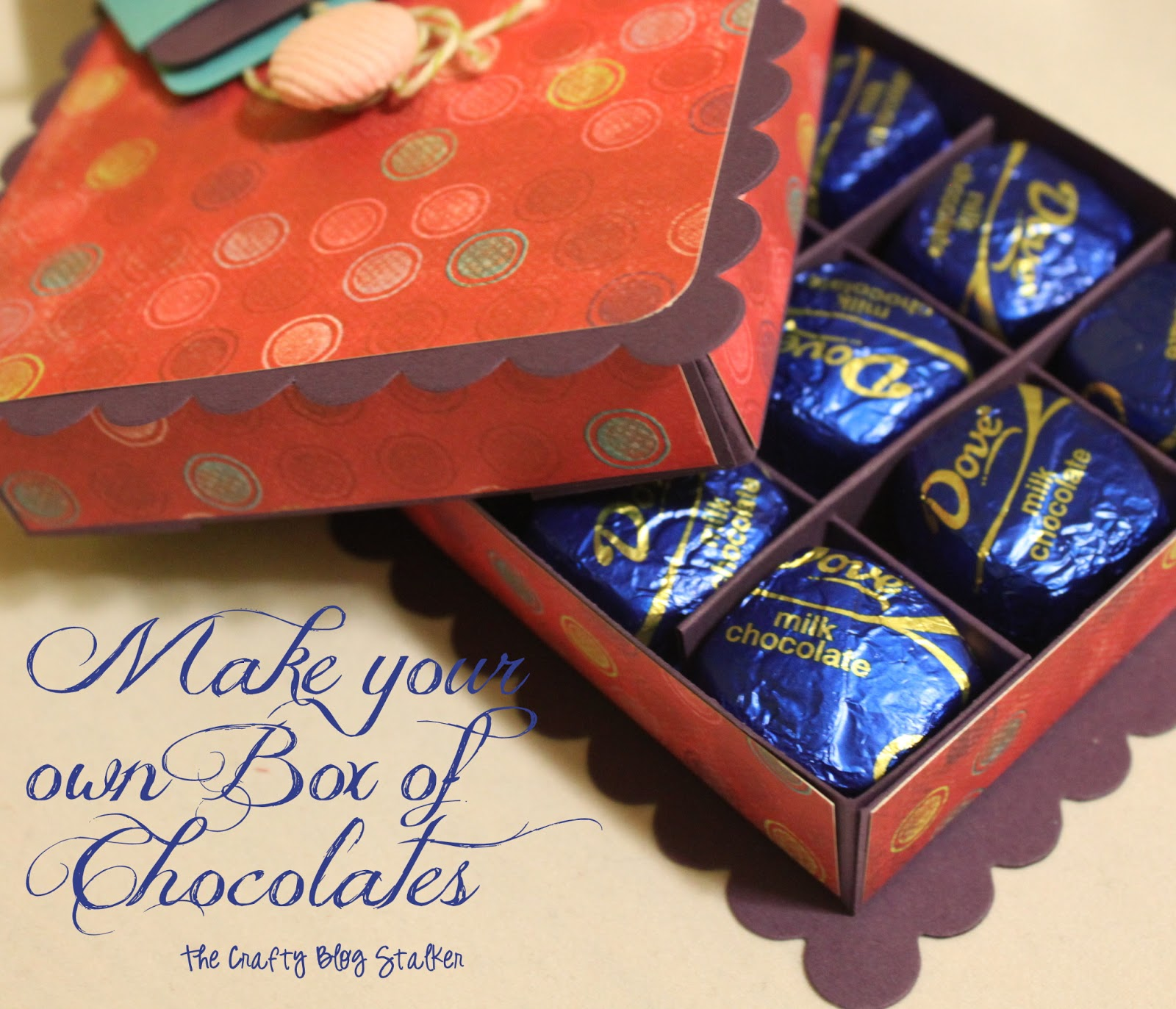 Crafty Teacher Lady February 2013: How To Make A Paper Box Of Chocolates