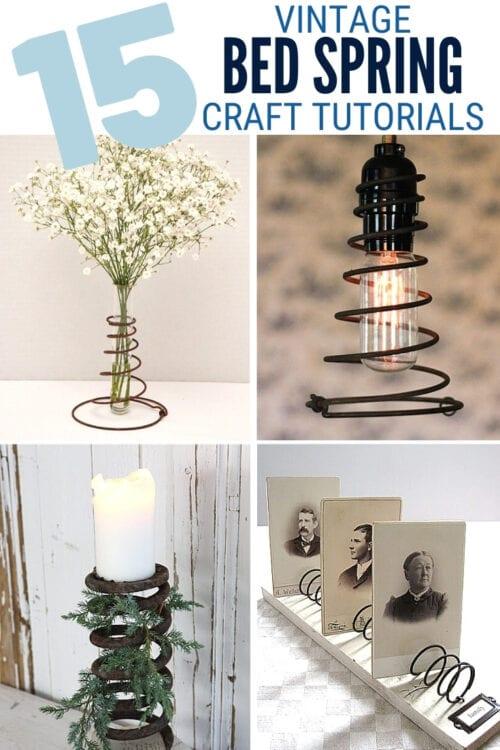 vintage spring craft tutorials 3