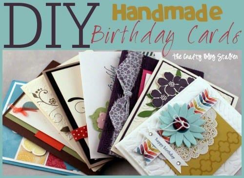 Handmade birthday card ideas the crafty blog stalker handmade birthday card ideas paper crafting birthday cards diy bookmarktalkfo Images