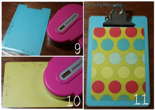 Decorative Standing Clipboard | Handmade Gift | Teacher Gift | Roomie Gift | Craft Tutorial | DIY