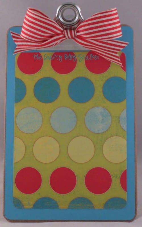 Decorative Standing Clipboard | Handmade Gift | Teacher Gift | Roomie Gift | Craft Tutorial | DIY