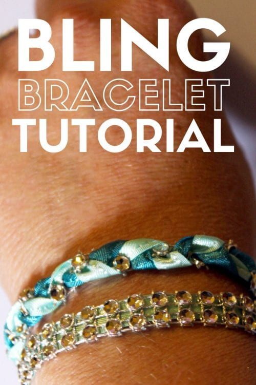 Title image for How to Make Unique Handmade Bracelets with Bling on a Roll