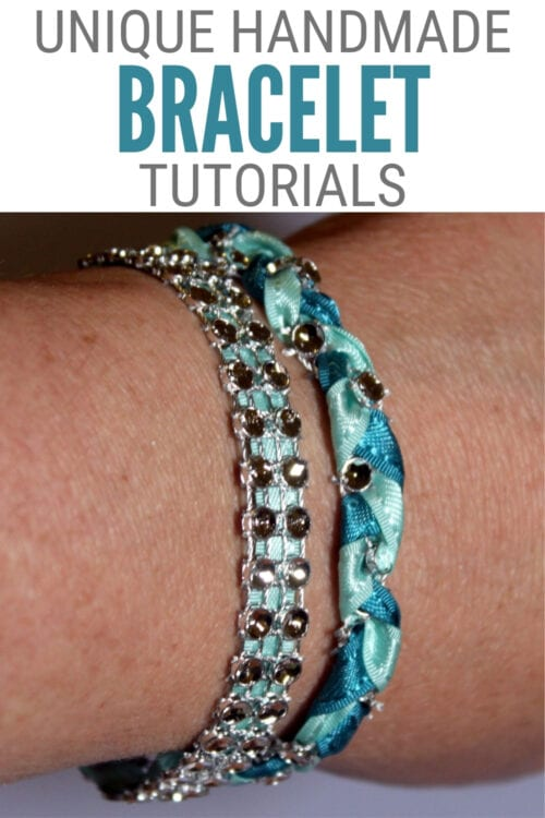 title image for How to Make a Pair of Unique Handmade Bracelets with Bling on a Roll