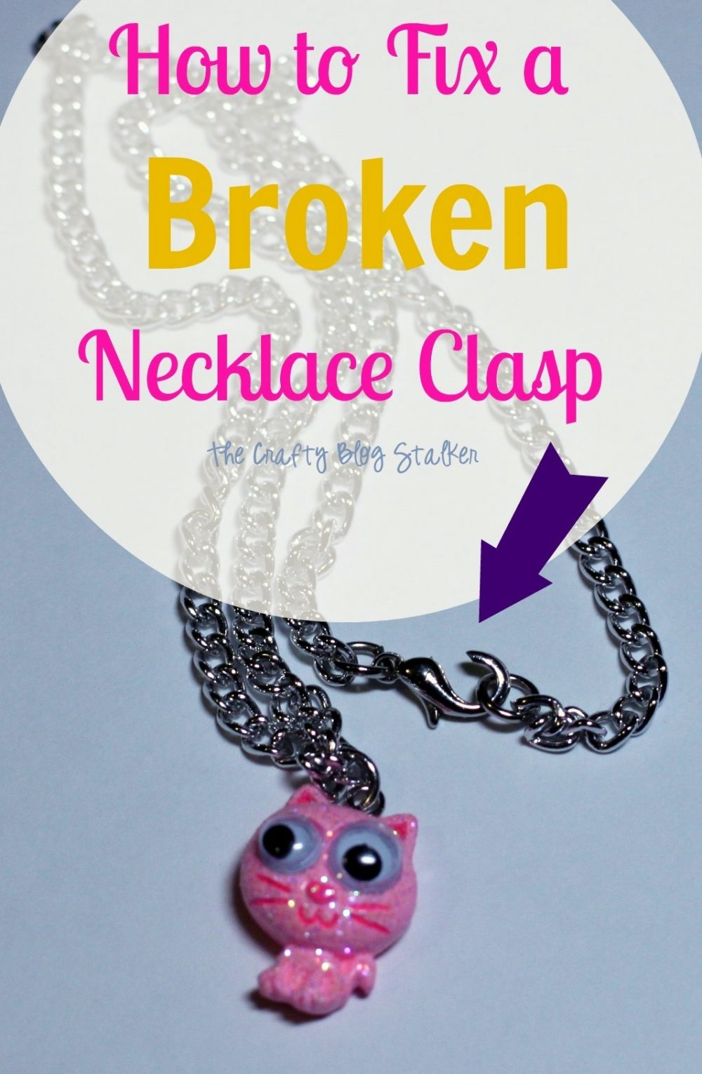 How To Fix A Broken Necklace Clasp