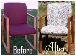 Update an Old Office Chair | Upholstery | Home Decor | FurnitureMakeover | Fabrics | DIY