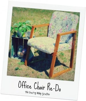 Old Office Chair Re-Do