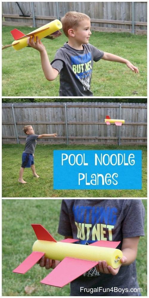 Pool Noodle Planes
