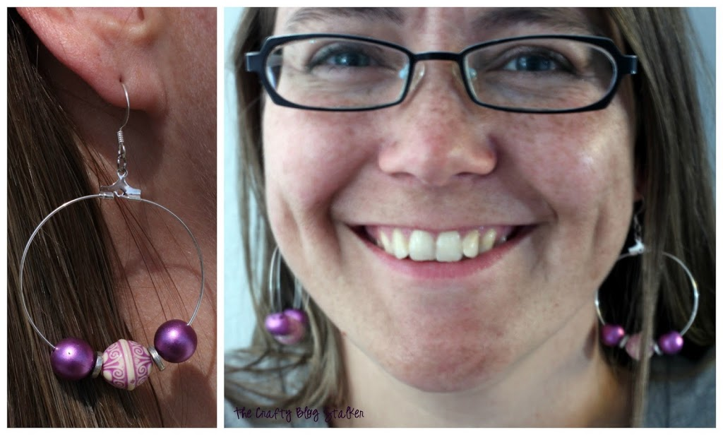 Making your own Beaded Hoop Earrings is easy and fun! Follow this step by step tutorial and show of your style.