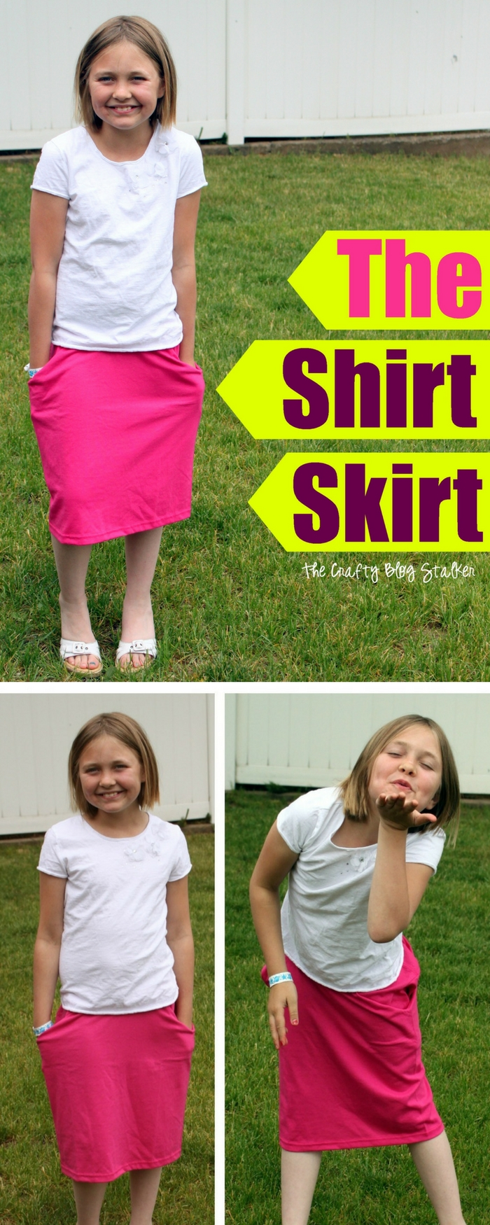 Shirt Skirt | How to Sew | T-shirt Refashion | Easy Sew Tutorial | Handmade | DIY