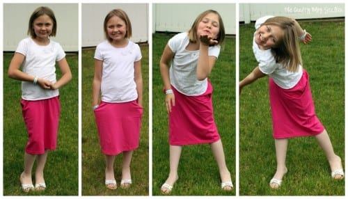 How to Sew a Shirt Skirt
