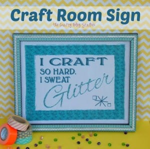 A Sign for my Craft Room