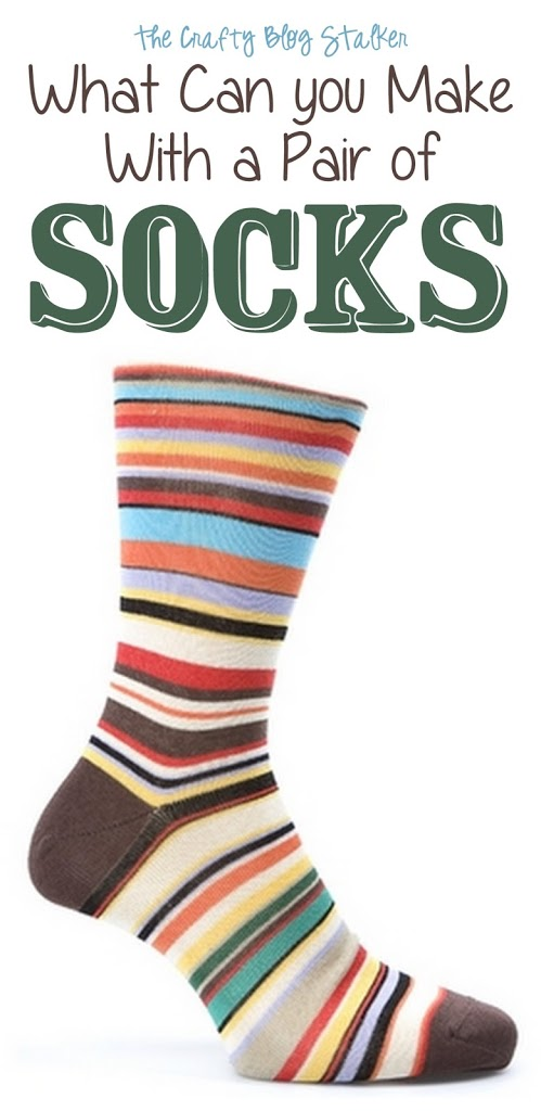 Socks are for more than keeping your toes warm. Create all sorts of fun craft projects using socks! This collection of ideas shows you how.