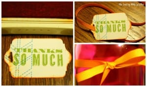 Make a simple Thank You gift as neighbor gift or teacher gift. Your recipient will love the handmade touch and know you care.