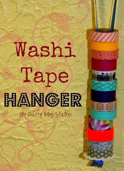 Washi Tape Hanger | Store and Organize Craft Supplies | Easy Craft Ideas | Handmade | DIY