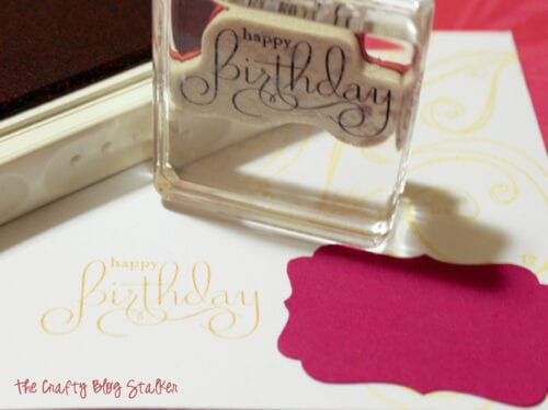 image of a birthday stamp