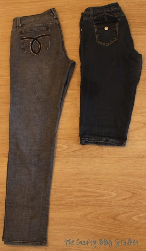 image of long pants and favorite pair of capris