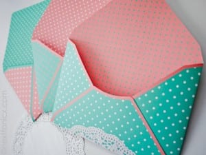 A collection of different ways to make paper envelopes to match any card. A fun paper crafting project. Show them you care and make it yourself.