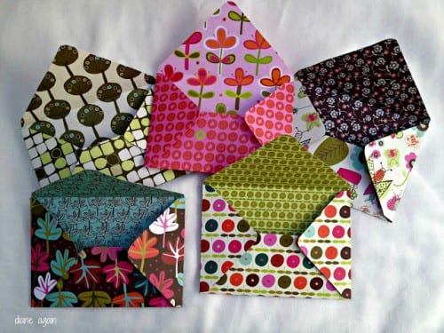 image of Envelopes from Scrapbook Paper