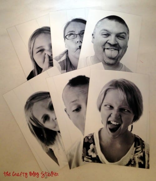 How to Make Fun Family Photography You Can Color, a tutorial featured by top US craft blog, The Crafty Blog Stalker.