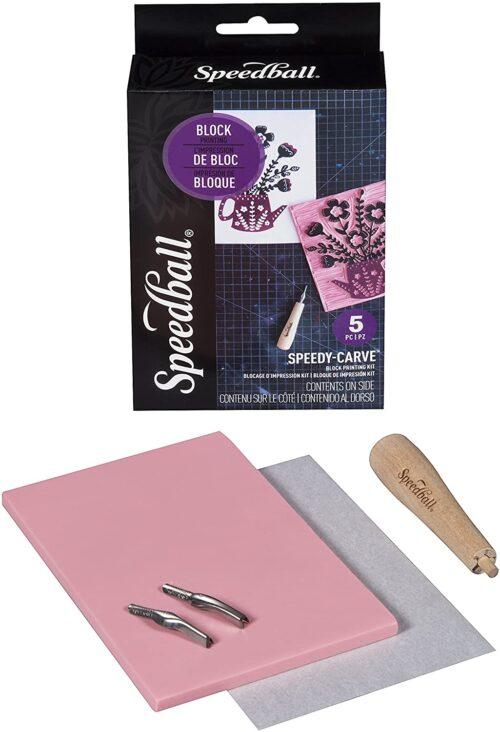 speedball stamp carving kit