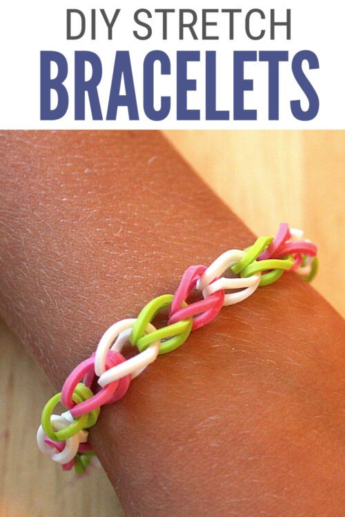 title image for How to Make Easy DIY Stretch Bracelets