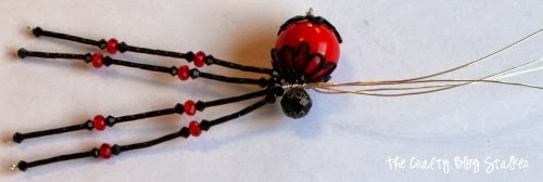 How to Make a Beaded Spider | Bead Pattern | Insect Jewelry | Home Decor | Fun Easy DIY Craft Tutorial Idea | Halloween | Christmas Spider