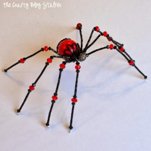 photograph about Legend of the Christmas Spider Printable known as How towards Crank out a Beaded Spider The Cunning Weblog Stalker