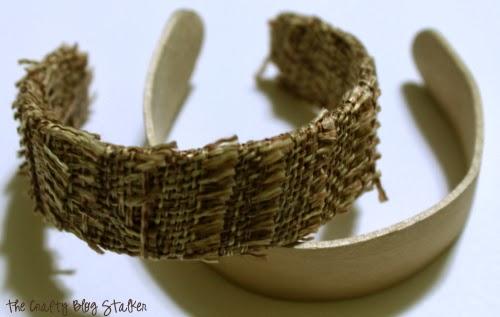 Burlap Napkin Ring