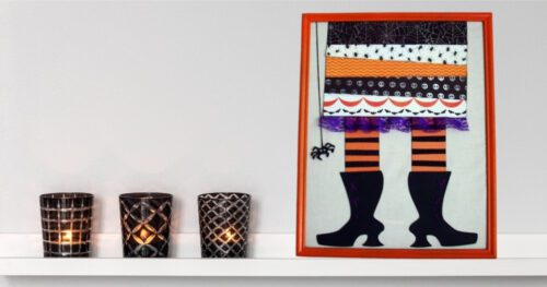 witch feet wall decor framed pictures 11