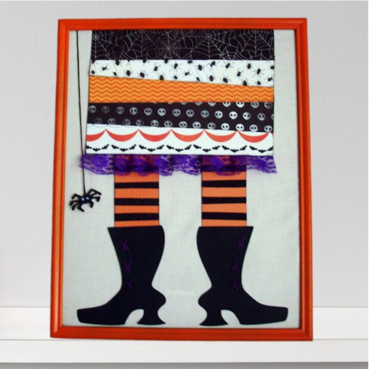 witch feet wall decor framed pictures 12