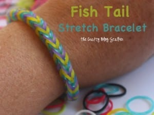 How to Make a Fish Tail Stretch Bracelet