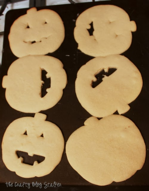 Make some frosted pumpkin sugar cookies as a ghoulish treat this Halloween. I'll share with you everything you need to make and frost the perfect cookie.