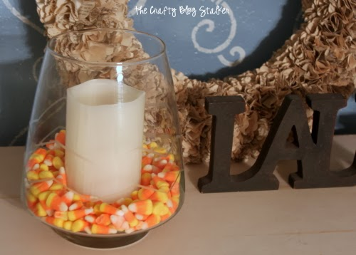 How to Make Glass Etched Chevron with Shape Tape™, a tutorial featured by top US craft blog, The Crafty Blog Stalker.