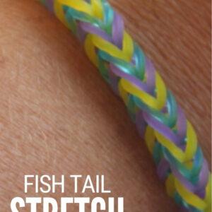 stretch bracelet tutorial 1