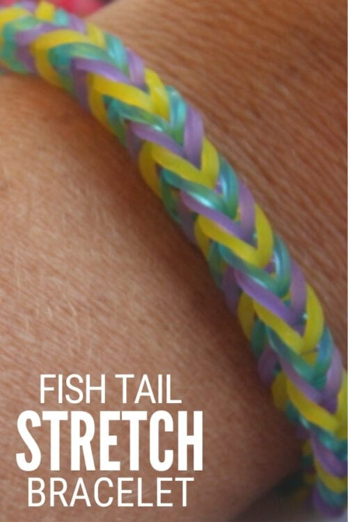 title image for How to Make a Fishtail Stretch Bracelet