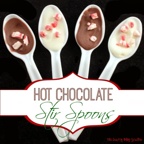 Hot Chocolate Stir Spoons | Handmade Gift | Christmas Gifts | Holidays | Easy DIY Craft Tutorial Idea