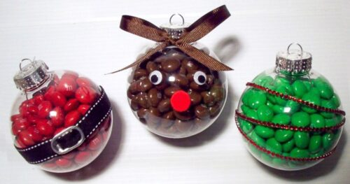 candy christmas ornament craft 10