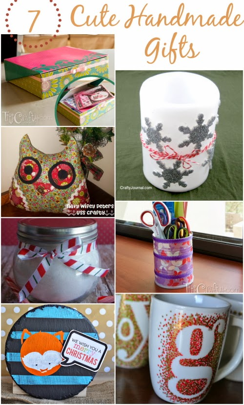 Quick and easy handmade gift ideas the crafty blog stalker for Quick easy gift ideas