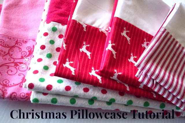 Christmas Pillowcase Tutorial from www.summerscraps.com