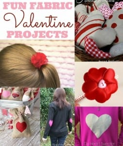 Fun Fabric Valentine Projects