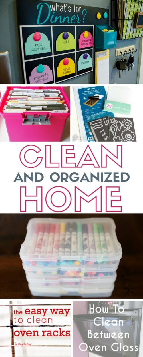 Clean and Organized Home | House Organization Tips | On a Budget | Inspiration | Easy DIY Craft Tutorial Ideas