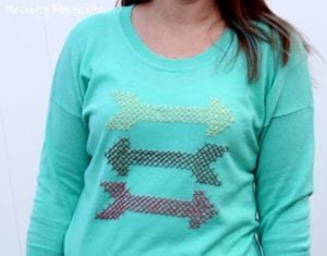 How to Make a Cross Stitch Sweater