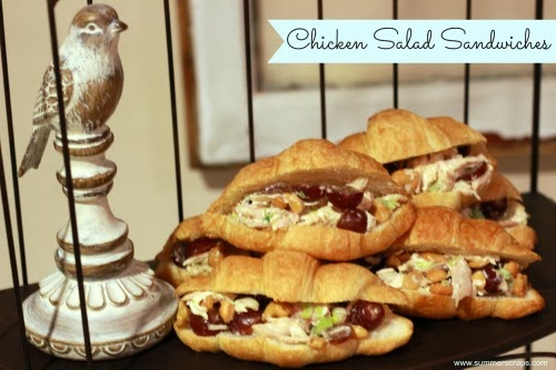 Lime Chicken Salad Sandwich Recipe