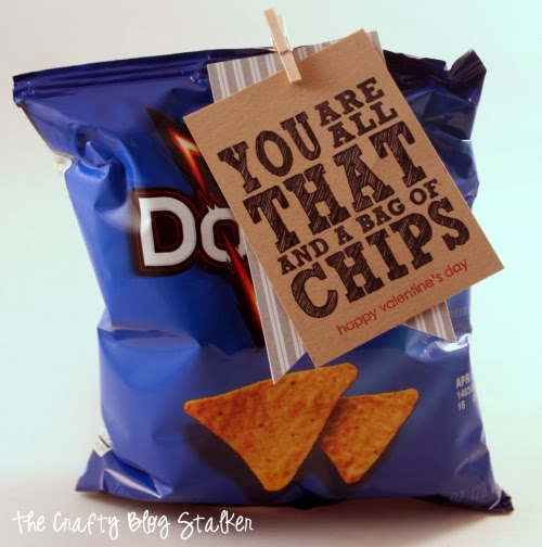photograph relating to You're All That and a Bag of Chips Printable named How in the direction of Produce Remaining Instant Valentine Printable The Cunning