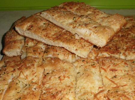 foccacia bread sticks