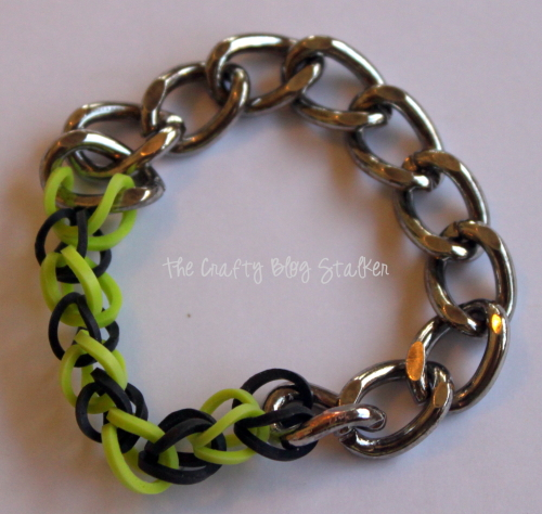 DIY Jewelry | Handmade Bracelets | Chain | Loom Bands | Stretch Bracelet