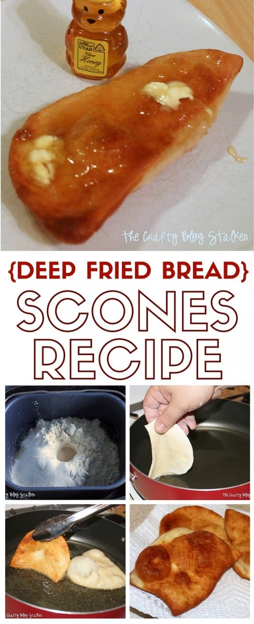 title image for deep fry bread with a bread maker machine and step by step images